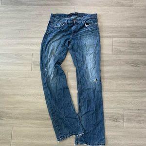 Joe's Jeans The Rocker Distressed Jeans